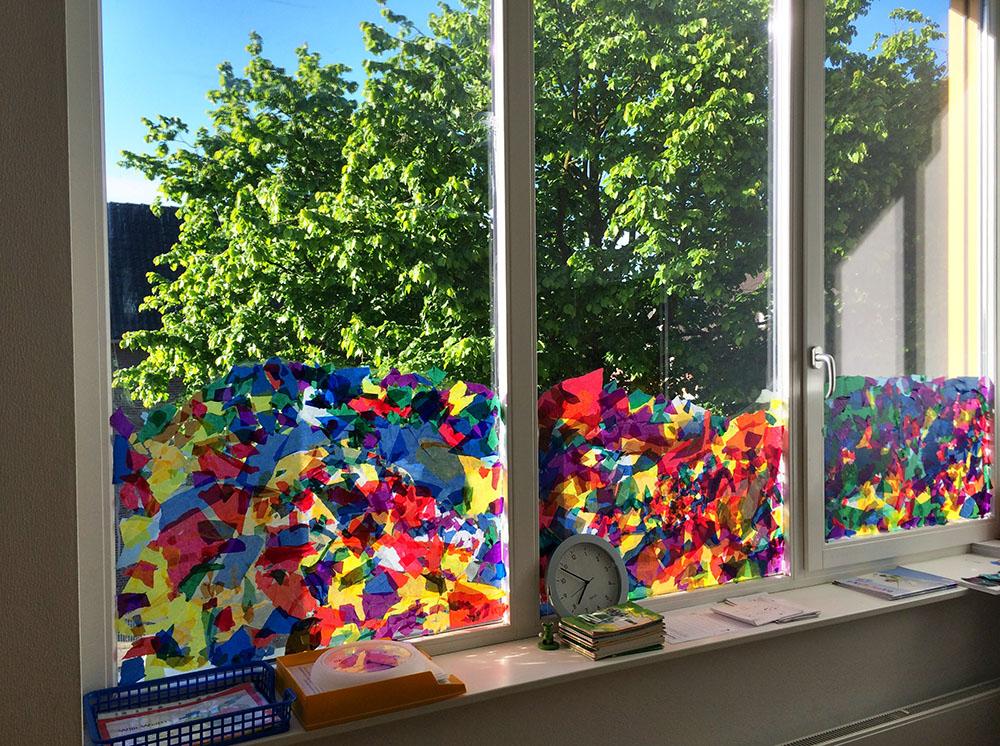 Fensterdeko fr hling grundschule - Fensterbilder grundschule ...